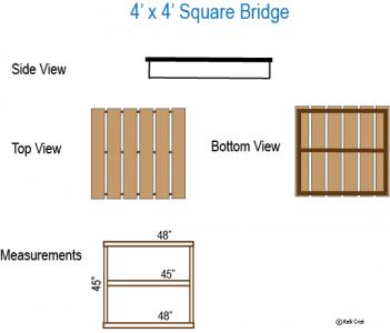 Trail Obstacle Bridge Measurements